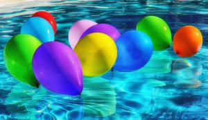 Der Swimmingpool als Spaßmagnet